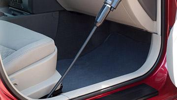 Как используя пылесос Rainbow почистить салон автомобиля?